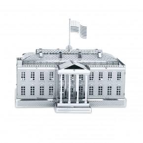 GeeksHive: Metal Works 3d Laser Cut White House Washington