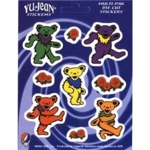 Geekshive Grateful Dead Dancing Bears And Roses Multi