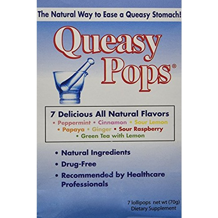 GeeksHive: Three Lollies - Queasy Pops - Assorted - 7 Lollipops Pack, Drug  Free - Vitamins & Dietary Supplements - Health & Personal Care