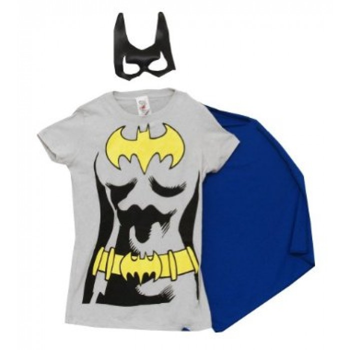 a34659f9 GeeksHive: Rubie's Women's Dc Comics Batgirl T-Shirt With Cape And ...