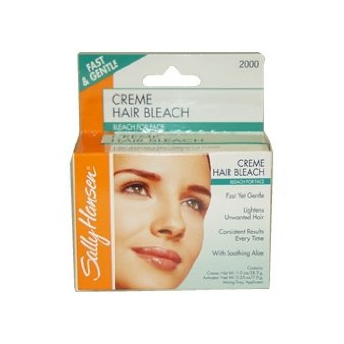 Your Sallys facial hair bleach