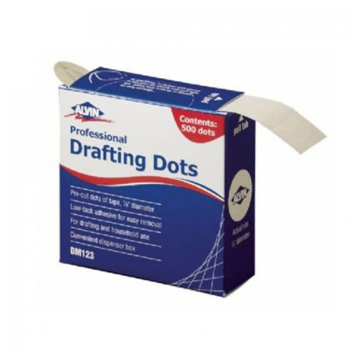 Geekshive alvin 500 drafting dots 7 8 inch drafting for Low tack tape for crafting