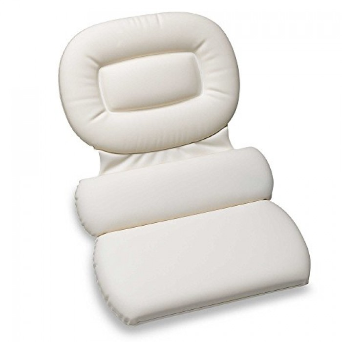 GeeksHive: Luxury Spa Three-Panel Bath Pillow, Large - Bath Pillows ...