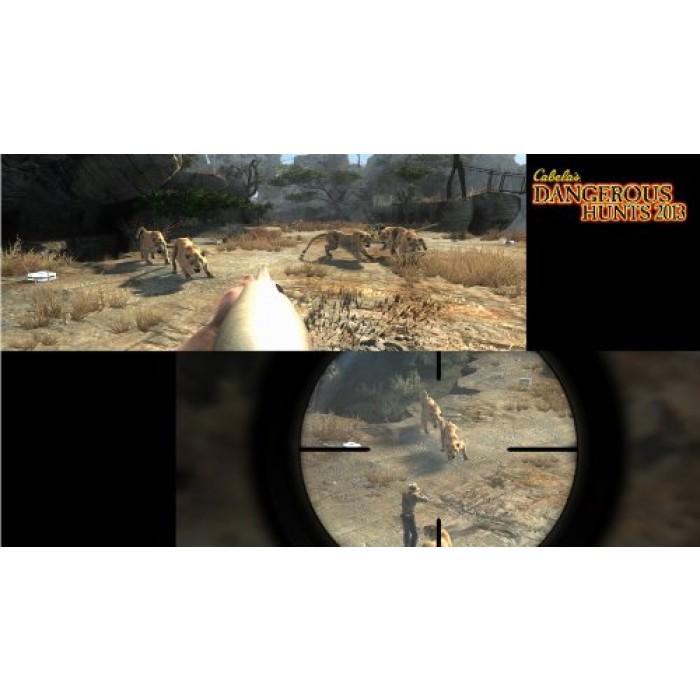 Geekshive cabela 39 s dangerous hunts 2013 with gun for Cabela s tackle craft catalog