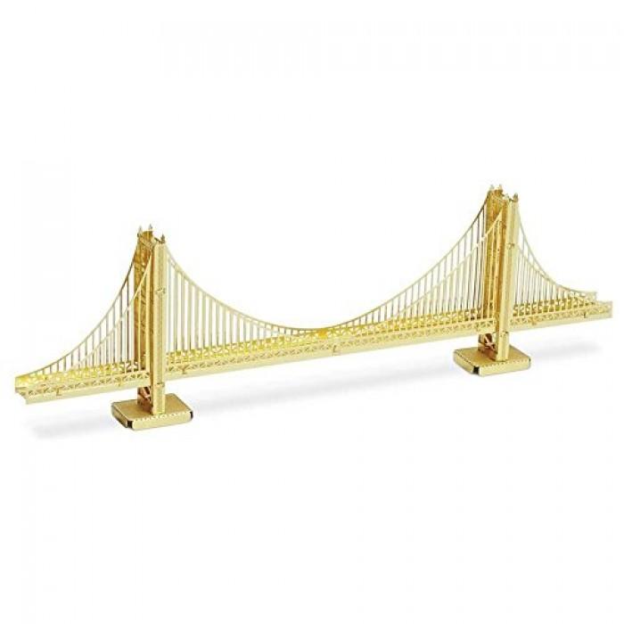 Geekshive metal earth 3d metal model golden gate bridge for Golden gate bridge jewelry