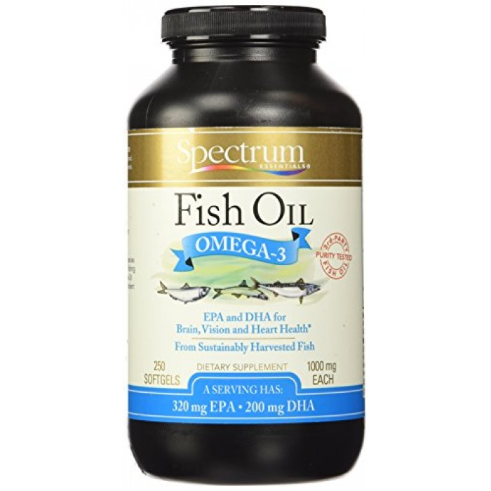 Geekshive spectrum essentials fish oil omega 3 1000 mg for Spectrum fish oil