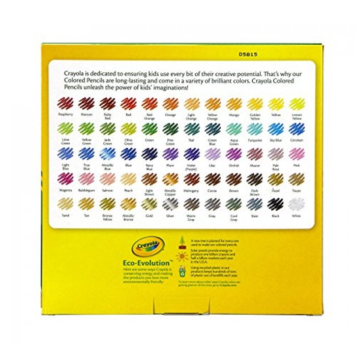 GeeksHive Crayola Colored Pencils 100 Count Vibrant Colors