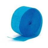 Aqua Blue Crepe Streamer - 81'