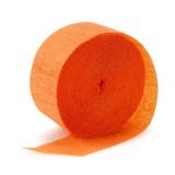 Mayflower Orange Crepe Streamer, 81'