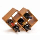 Oenophilia Bamboo 8-Bottle Wine Rack