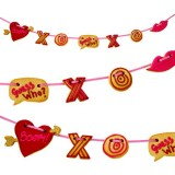 Meri Meri Valentines Cookie Cutter Garland Kit