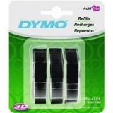 Dymo Embossing Tape Glossy vinyl labels-3 Rolls
