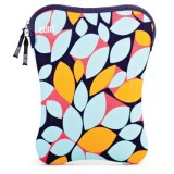 BUILT 9-10-Inch Neoprene Netbook Sleeve, Falling Leaves