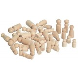Hygloss Decorative Wooden People