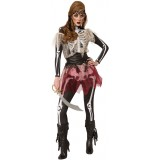 Rubie's Costume Skellie Pirate Wench Costume  - Standard Size
