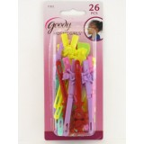 Goody Girls Sassy Self Hinge Hair Barrettes, 26 pieces