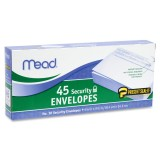 Mead Press-it Seal-it Security Envelope 45/Box