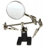 MZ101B Helping Hands with Magnifying Glass