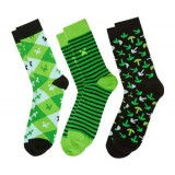 Minecraft Socks 3 Pack - Size Small - Recommend for Children