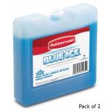 """Rubbermaid Blue Ice Brand Weekender Pack 7"""" x 1.63"""" x 6.75 (2 Pack)"""