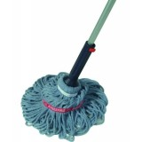 Self-Wringing Ratchet Twist Mop with Blended Yarn Head, 54-inch (1818664)