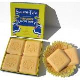Swedish Dream Sol Ros-Tval Sunflower Facial Soap -Box of 4 Soaps