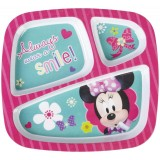 Zak Minnie Mouse 3 Section Tray (Discontinued)