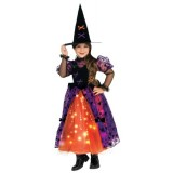 Twinklers Costume Pretty Witch with Fiber Optic Skirt, Toddler
