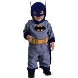 Batman The Brave And The Bold Romper Blue Batman, Blue Print, 6-12 Months