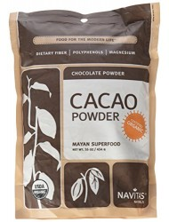Navitas Naturals, Chocolate Powder, Organic, 16-Ounce Pouches (Pack of 1)