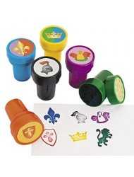24 - MEDIEVIL STAMPERS - knight party favors