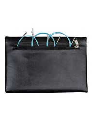 Addi Click Turbo Basic Interchangeable Circular Knitting Needle System with Exclusive Blue Cords