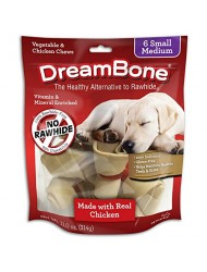Dreambone Real Chicken and Vegetables, Small/Medium, 6-Pack