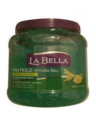 La Bella Max Hold Styling Gel 35.3 Oz (Green)