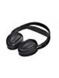 Audiovox Dual Channel Wireless Fold-Flat Headphones with Batteries