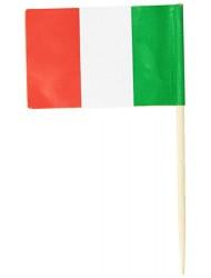 Italian Flag Picks   (50/Pkg)