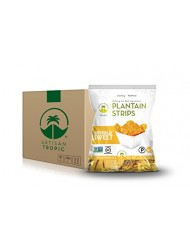 Artisan Tropic Plantain Strips: Naturally Sweet 1.75oz (16 Pack)