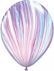 "Qualatex 11"" Round Balloons, Fashion Agate - Pack of 25"