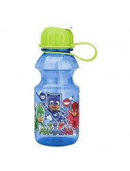Zak Designs PJ Masks 14 Ounce Reusable Plastic Water Bottle Leak Proof BPA Free