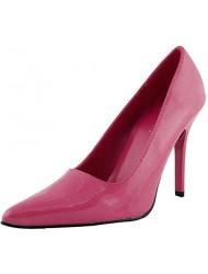 The Highest Heel Women's CLASSIC , Fuchsia Patent PU , Pump, 7 B(M) US
