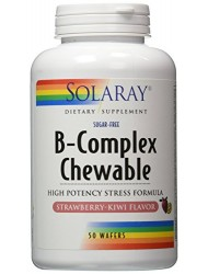B-Complex Chewable Solaray 50 Chewable