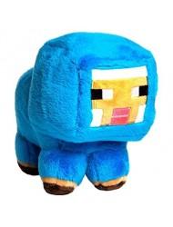 "JINX Minecraft Blue Baby Sheep Plush Stuffed Toy (Blue, 7"" Tall)"