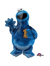 "Sesame Street Cookie Monster 35"" Balloon (Each)"
