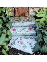 Miniature Fairy Garden Welcome Fairy Walkway