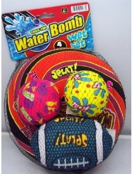 Toss'Em Water Bomb Wet Set 4 Pcs.