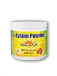 L-Lysine Powder Nature's Life 200 g Powder