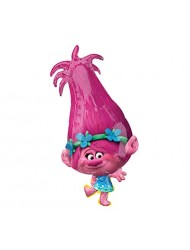 Trolls Poppy Shape Foil Balloon