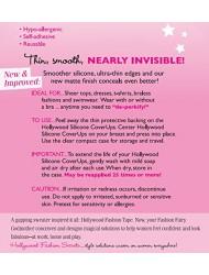 Hollywood Fashion Secrets Silicone CoverUps Dark Shade