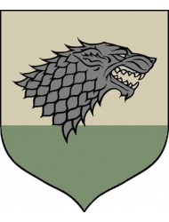 "Calhoun Game of Thrones House Sigil Tournament Banner (19"" by 60"") (House Stark)"