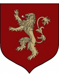 "Calhoun Game of Thrones House Sigil Tournament Banner (19"" by 60"") (House Lannister)"